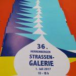 Strassengalerie Herrenberg Galerie 2017 - Katalog-Cover