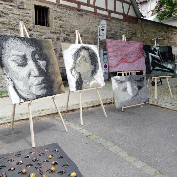 Strassengalerie Herrenberg-Malerei-Dieter Kobel