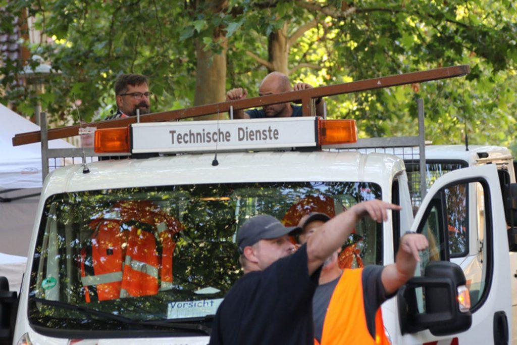 Strassengalerie Herrenberg - Technische Dienste