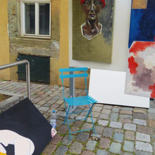 Strassengalerie Herrenberg Galerie 2017-Malerei-Loerz