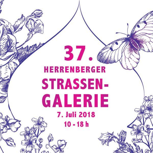 Strassengalerie Herrenberg Galerie 2018-Katalog-Cover